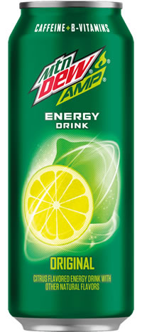 Caffeine In Amp Energy Drink