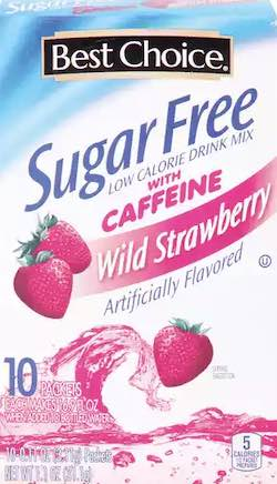 Best Choice Strawberry Energy Drink Mix