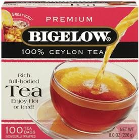 Caffeine in Bigelow Tea