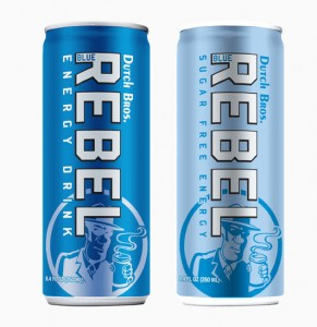 Dutch Bros Blue Rebel Energy Drink