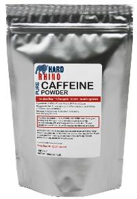 Caffeine In Pure Caffeine Powder