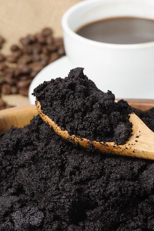 Image result for used coffee grounds