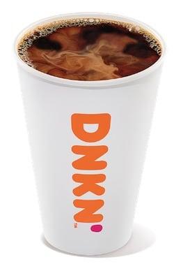 Caffeine In Dunkin Donuts Brewed Coffee