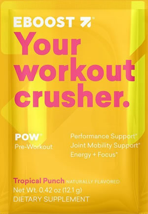 EBOOST Workout Crusher Mix