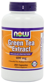 Caffeine in Green Tea Extract Capsules