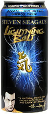 Picture of Steven Seagal's Lightning Bolt Energy