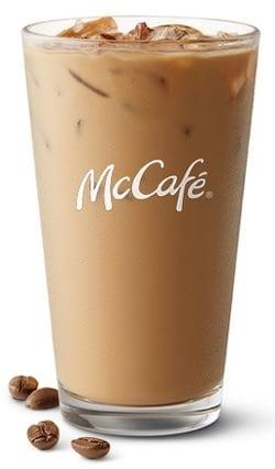 caffeine in mcdonalds iced coffee