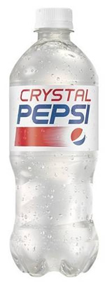 Caffeine in Crystal Pepsi