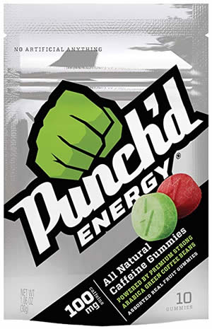 Punch'd Energy Gummies