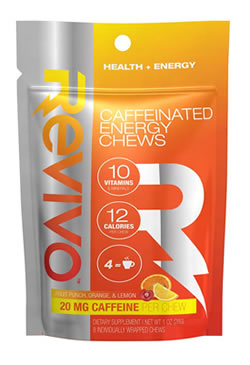 Caffeine energy chews