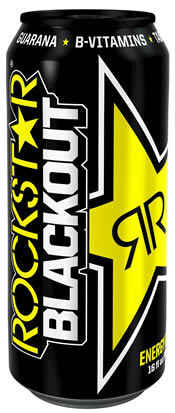 Rockstar Blackout Energy Drink