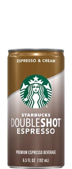 How Much Caffeine In Starbucks Doubleshot Espresso Drink