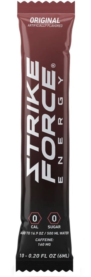 Strike Force Energy Drink Mix