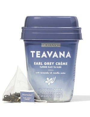 Caffeine in Teavana Tea