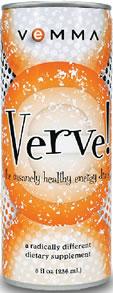 Caffeine in Verve! Energy Drink