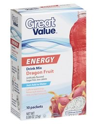 Caffeine In Great Value Energy Drink Mix