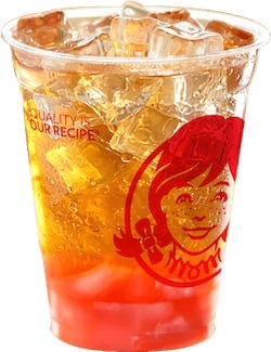 wendys iced tea How Much Caffeine In A  Oz Cup Of Coffee