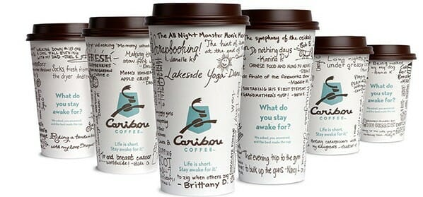 Caribou Coffee Caffeine amounts