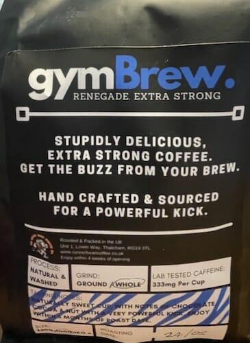 gym brew coffee