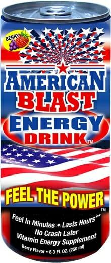 American Blast Energy Drink
