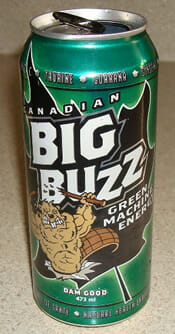 Canadian Big Buzz Green Machine Energy