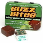 Buzz Bites: Mint Chocolate Energy Chews