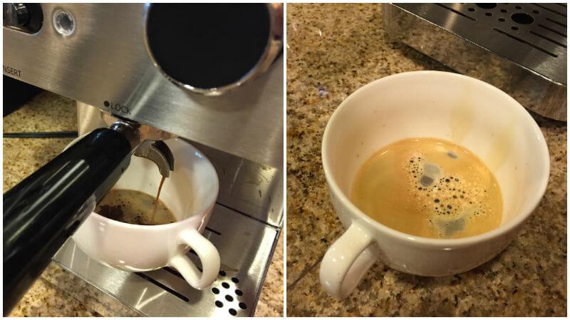 a capresso espresso shot