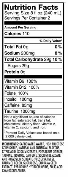dna-energy-drink-ingredients