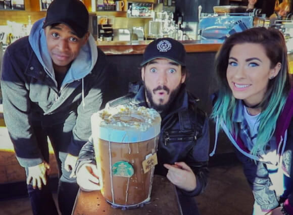 Elton Castee's Starbucks Drink