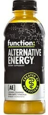 Function: Alternative Energy Drink