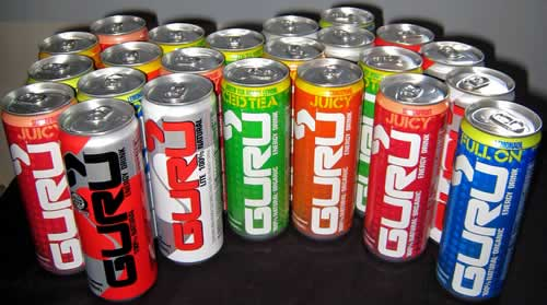 Guru 100% Natural Energy Drink Review
