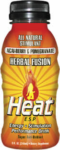 "Heat E.S.P. Energy Drink: ""Herbal Energy"""
