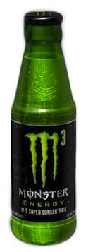 Monster Energy is introducing M3 Energy Drink, the first in a glass...