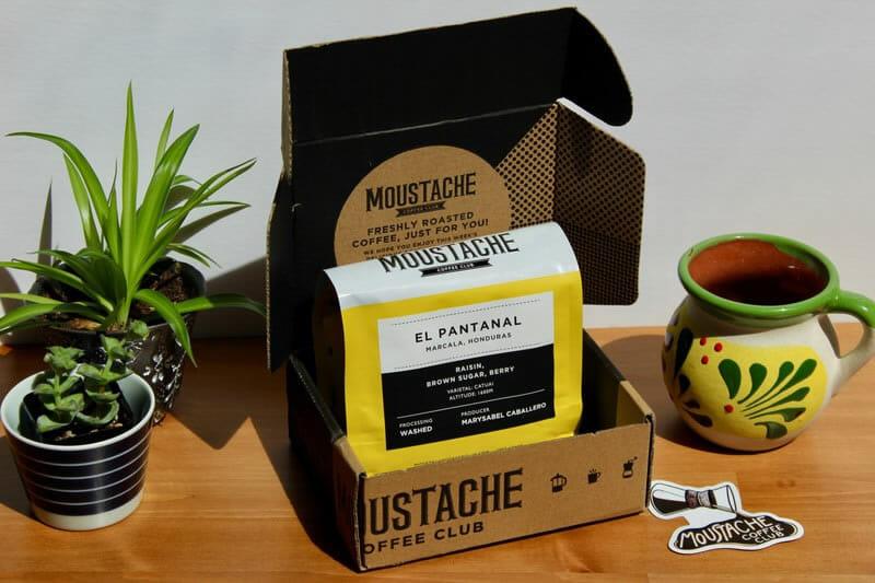 moustache coffee