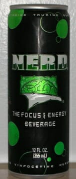 Nerd: Focus & Energy Beverage Review