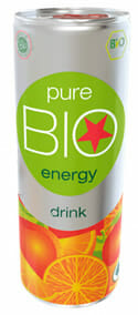 Pure Bio: 100% Organic Energy Drink