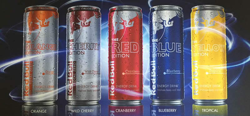 2015 Red Bull Editions Line