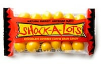 Shock-A-Lots: Chocolate Covered Coffee Beans