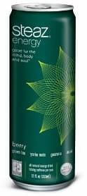 Steaz Energy Drink: Organic Fuel (Berry)