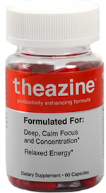 Theazine relaxed energy supplement
