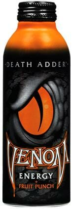 I've Been Bitten by Venom Death Adder Energy Drink