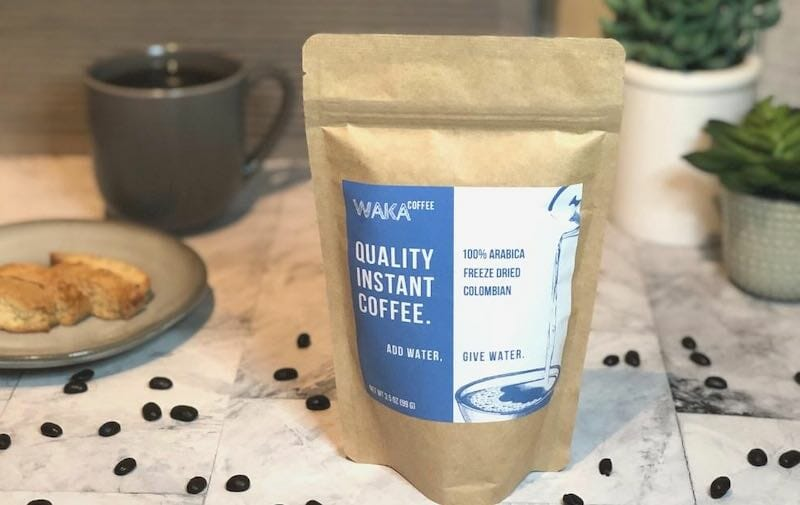 waka medium roast coffee