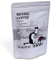 Strange Coffee: Weasel Puke and Civet Poop